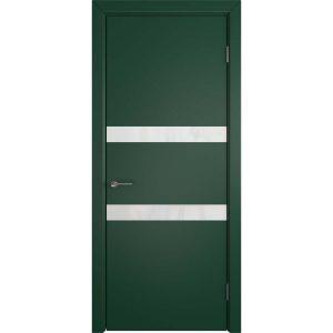 Дверь межкомнатная Niuta Rainy Moss White Gloss
