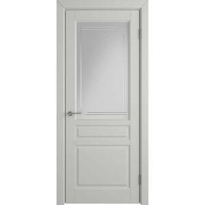 Дверь межкомнатная Stockholm Cotton Crystal Cloud L