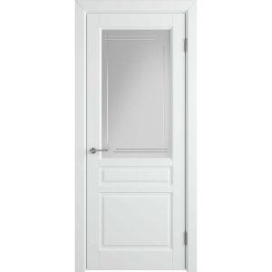 Дверь межкомнатная Stockholm Polar Crystal Cloud L