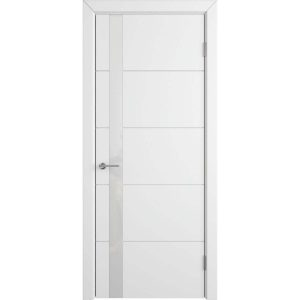 Дверь межкомнатная Trivia Polar White Gloss